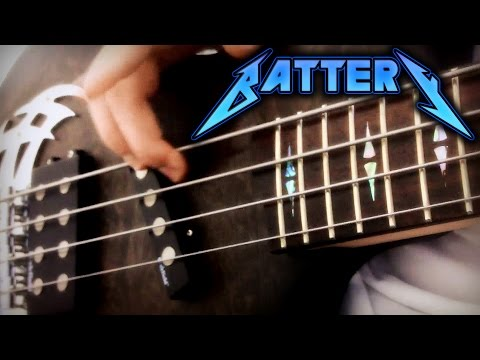 Metallica - Battery - Bass Cover - Full HD 1080p