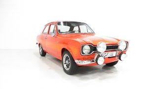 Nonton A Genuine, Very Rare AVO Mk1 Ford Escort RS2000 with Press Vehicle Provenance. SOLD! Film Subtitle Indonesia Streaming Movie Download