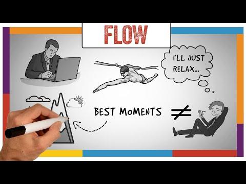 Watch 'Flow Summary & Review (Mihaly Csikszentmihalyi) - ANIMATED - YouTube'