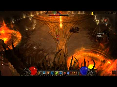World First WD Solo Inferno Diablo (boss)