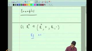 Mod-03 Lec-06 Vector Spaces, Linear