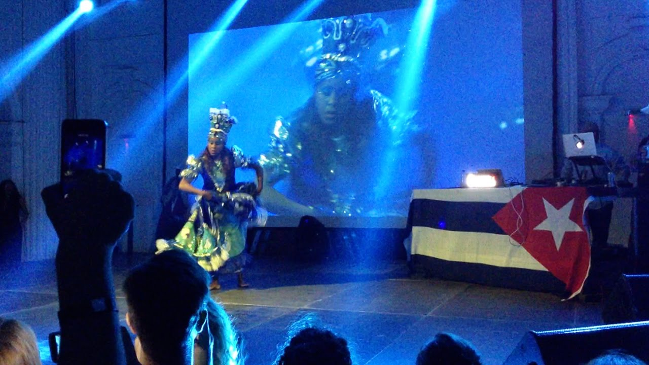 Смотреть онлайн уроки сальсы: Jennyselt Galata Calvo — Yemaya show | Havana en Belgrado festival 2015