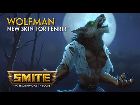 SMITE — New Skin for Fenrir — Wolf Man