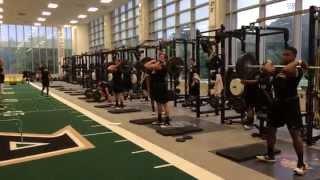 【極限の身体能力を目指して!】陸軍養成校アメフト部のトレーニング