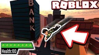 Jailbreak Mythbusters: NO FALL DAMAGE GLITCH!!! (Roblox Jailbreak)