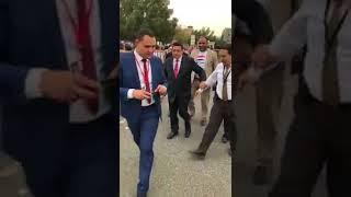 السفير المصري في الكويت يتابع سير العميلة الانتخابية في الْيَوْمَ الاول لانتخابات الرئاسة في الكويت