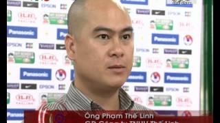 Chăn drap gối nệm Thế Linh - NTT chính giải Bóng đá nữ vô địch ĐNA 2012 (VTV3)