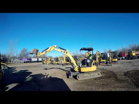 CATERPILLAR TRACK EXCAVATORS 303.5DCR equipment video mQzJqASy3vc