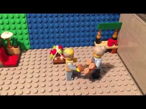 Lego: The Gingerbread Man