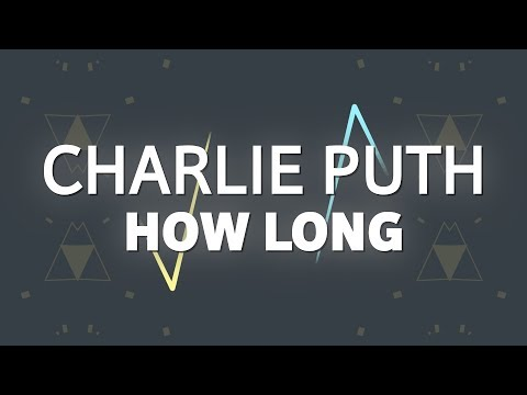 Video Charlie Puth – How Long (Lyrics) download in MP3, 3GP, MP4, WEBM, AVI, FLV January 2017