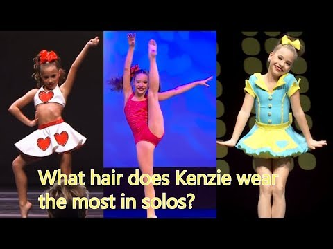 What is Mackenzie Ziegler's (most common) solo hairstyle?