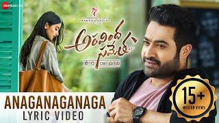 Video Anaganaganaga Lyrical Video | Aravindha Sametha | Jr. NTR, Pooja Hegde MP3, 3GP, MP4, WEBM, AVI, FLV September 2018