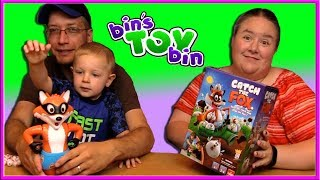 """Item provided for review by Goliath Games.  Teagan saw us playing Catch the Fox and wanted to give it a try, too!SUBSCRIBE and never miss a video! http://www.youtube.com/subscription_center?add_user=BinsToyBinAbout Bin's Toy Bin →Adventures in toy collecting! Join husband and  wife team, Bin and Jon (and their son Teagan, too) as they review the latest (and sometimes not-so-latest) toys in their own unique way! Check back daily for new videos!  Also be sure to visit our 2nd YouTube channel for our Family Vlogs!GET YOUR OFFICIAL BIN'S TOY BIN GEAR! →  http://binstoybin.spreadshirt.com/Follow Bin & Jon → Bin's Toy Bin Family Vlogs (Our 2nd YouTube Channel): http://www.youtube.com/BinsToyBinTravelOfficial Site: http://binstoybin.com/IG: @binstoybinFB: https://www.facebook.com/BinsToyBinSnapchat: real_binstoybinTwitter: @BinsToyBinG+: https://plus.google.com/+BinsToyBinMUSIC USED:""""Beach Front Property"""" by Silent Partner from YouTube Audio Library"""