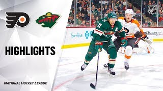 NHL Highlights | Flyers @ Wild 12/14/19 by NHL