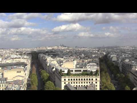 Views Around the City of Paris, Île-de-France, France – 18th October, 2014