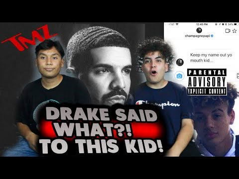 DRAKE STOLE THIS KID'S SONG?! (EXPOSED)