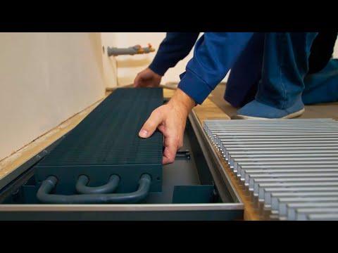 Производство внутрипольных конвекторов Techno