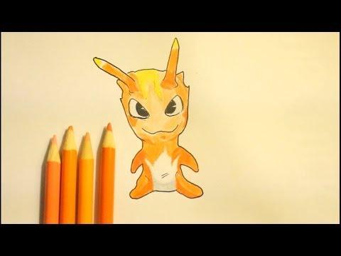 Slugterra Burpy Drawing How to Draw Slugterra Burpy