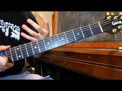 Beginner Guitar Lessons – Theory Basics – Learning The Order Of Notes On The Neck  – Part 2