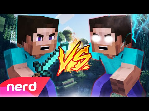 Minecraft Song | Steve Vs Herobrine | Nerdout!
