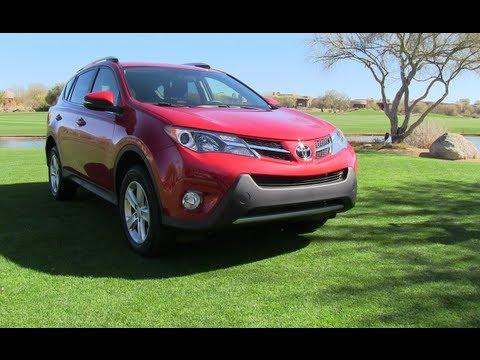 2013 Toyota RAV4 0-60 MPH First Drive Review