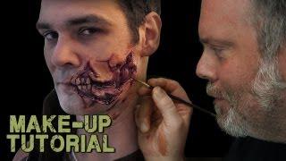 Walking Dead Style Prosthetic Application