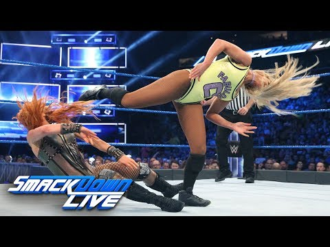 Becky Lynch Vs. Carmella: SmackDown LIVE, July 24. 2018