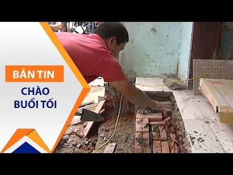 Xem dân Hà Nội và TPHCM xây bậc tam cấp | VTC - Thời lượng: 2 phút, 21 giây.