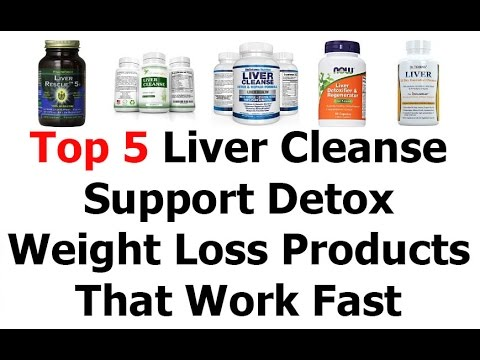 Top 5 Liver Cleanse Support Detox Review Or Weight Loss Products That Work Fast 2016 Video 52