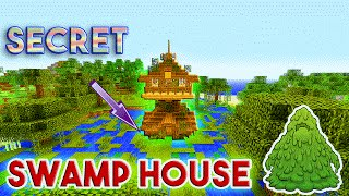 SWAMP HOUSE | Minecraft: How To Build A Small Survival House Tutorial (Easy Starter House )