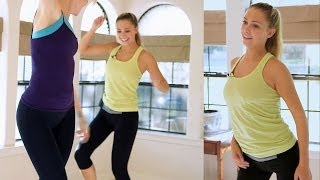 Fun Beginners Dance Workout For Weight Loss - At Home Cardio Exercise Dance Routine - YouTube