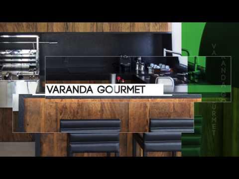 Varanda Gourmet, conheça o moderno Granito Preto Escovado