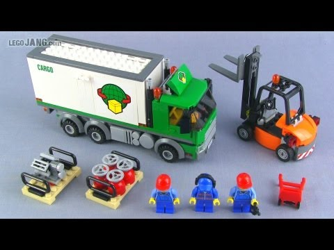 LEGO City Cargo Truck 60020 set review!