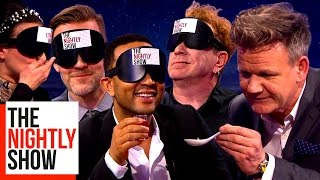 Video Gordon Ramsay Blindfolding Celebs & Feeding Them Strange Foods | COMPILATION MP3, 3GP, MP4, WEBM, AVI, FLV Agustus 2019