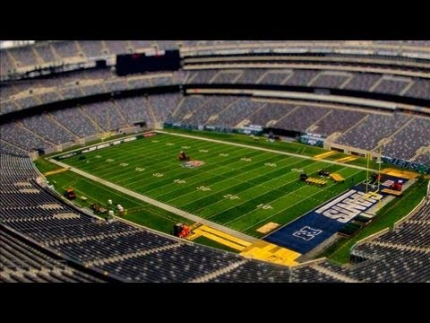 met life - Making one stadium home for both the New York Giants and the New York Jets requires an intricate changeover - from endzone logos, lighting, tee-shirts, banne...