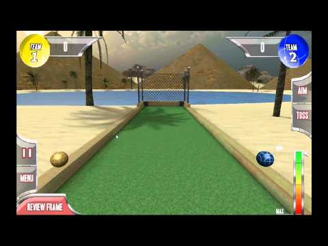 Video of Bocce Ball