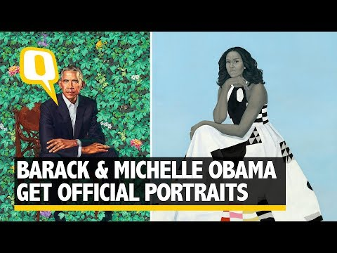 Obama Banters About Michelle's 'Hotness' at Portrait Unveiling | The Quint