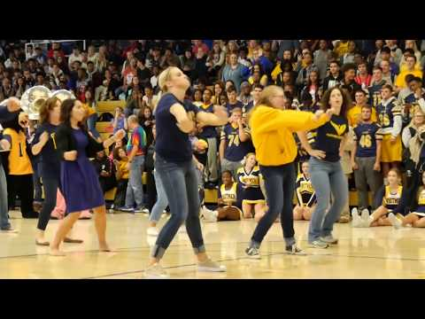 Uptown Funk: Whitmer Teacher Flash Mob - Homecoming 2017