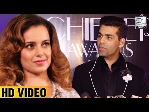 Karan Johar's REACTION on Kangana Ranaut On His Sh