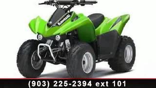 10. 2014 Kawasaki KFX 90 - Sherman Powersports - Sherman, TX 75