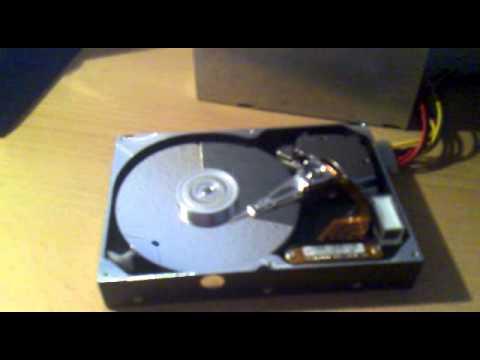 Offene Festplatte [Maxtor 34098H4, 40GB]