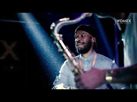 Ariwo performing Pyramid live at Womex 2018
