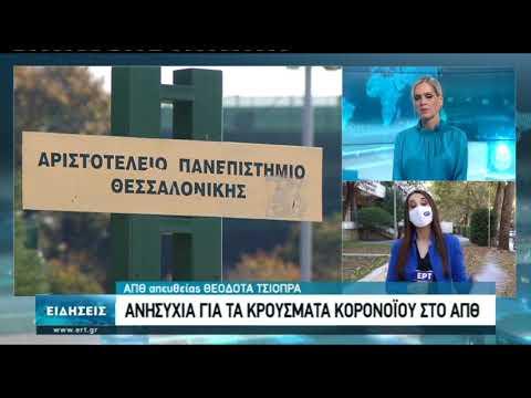 Διαμαρτυρία φοιτητών ΑΠΘ για τα μέτρα κατά του κορονοϊού | 29/10/2020 | ΕΡΤ