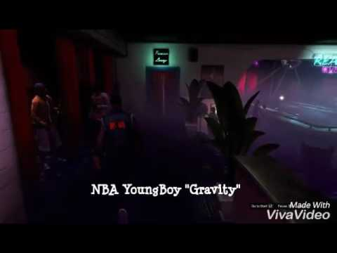 "NBA YoungBoy ""Gravity""(official GTA music video)"