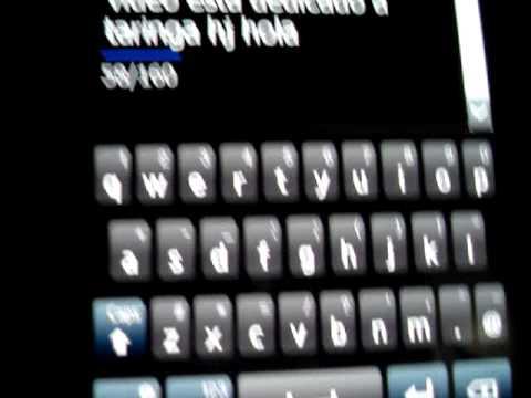 Teclado Swype Samsung Omnia II i8000L