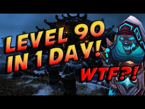 How To / Tutorial – Get Level 90 in ONE DAY. (World of Warcraft Gameplay / Commentary)