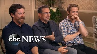 Video One on One With the Cast of 'The Big Short' MP3, 3GP, MP4, WEBM, AVI, FLV April 2018