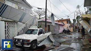 Ni las tormenteras resistieron el embate del huracán María en algunas zonas de Puerto Rico
