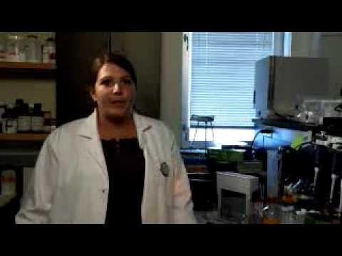 Kaitlin - Student der Biochemie-Abteilung