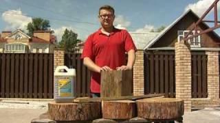 Антисептик для дерева: защити дом от гнили, плесени и огня.